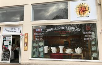 All Fired Up Ceramics Cafe Bournemouth Exterior