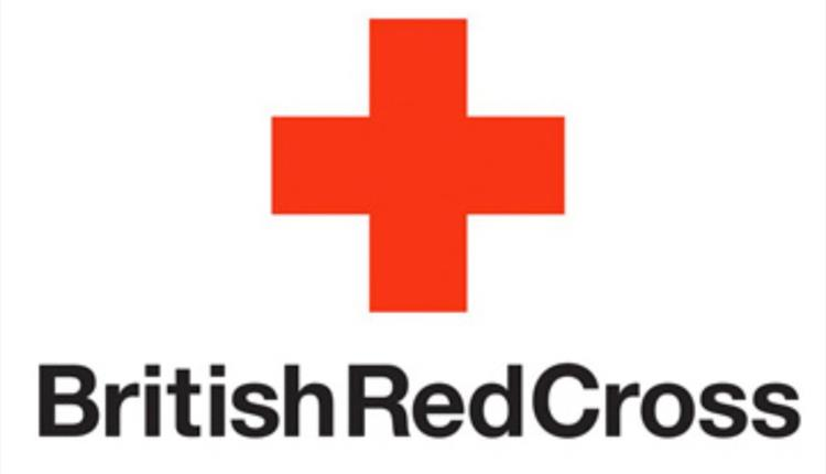 The British Red Cross logo.