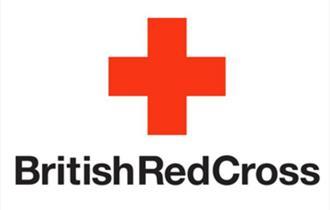 The British Red Cross logo.