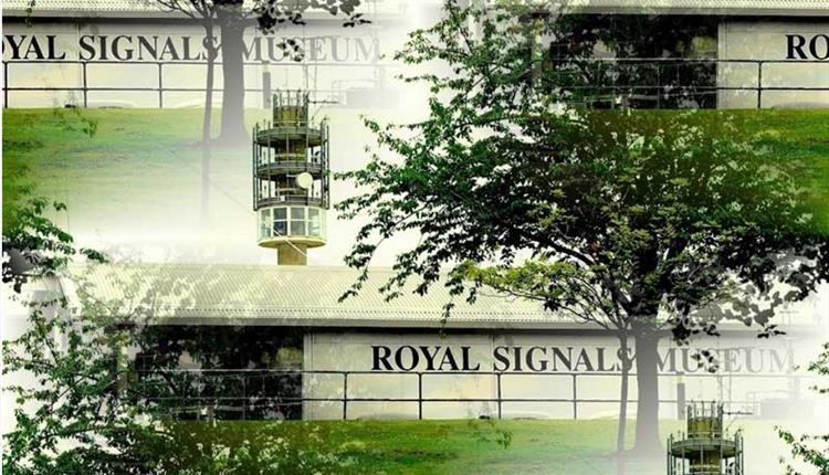 Photo edit of the exterior of the Royal Signals museum