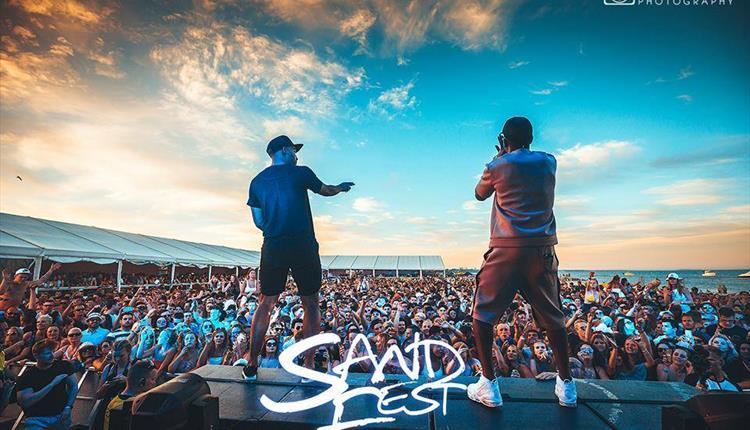 SandFest UK Music Stage