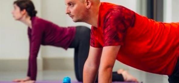 Yoga class at Pavilion Dance South West