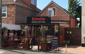 SimSim outside seating