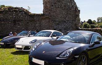 Simply Porsche with 3 Porsches lined up