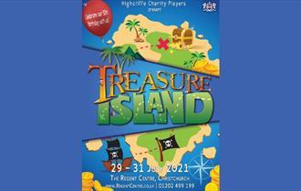 Cartoon Treasure Island poster