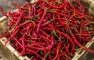 Picture of chillis