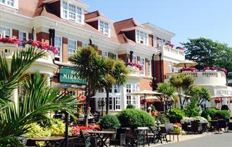 Hotel Miramar exterior facade