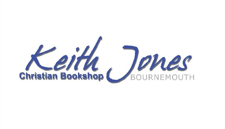 The words Keith Jones Christian Bookshop