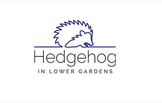 Logo of a hedgehog outline with the words in Lower Gardens