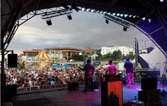 OnStage at Pier Approach - Hazy