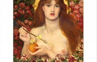 Pre-Raphaelite picture of Venus