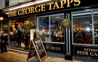 The George Tapps exterior