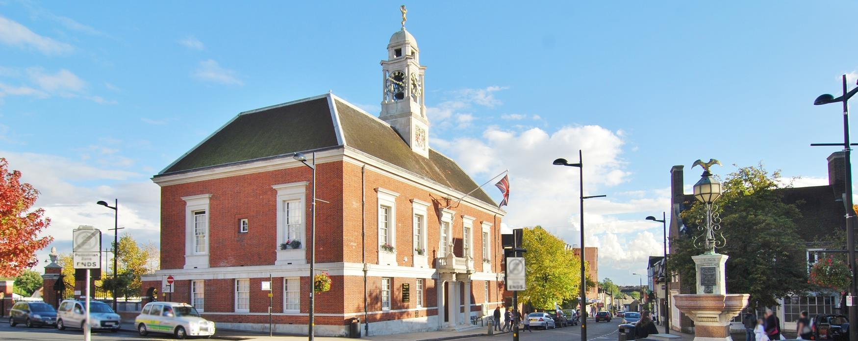 Photograph of Grade 2 Listed Braintree Town Hall