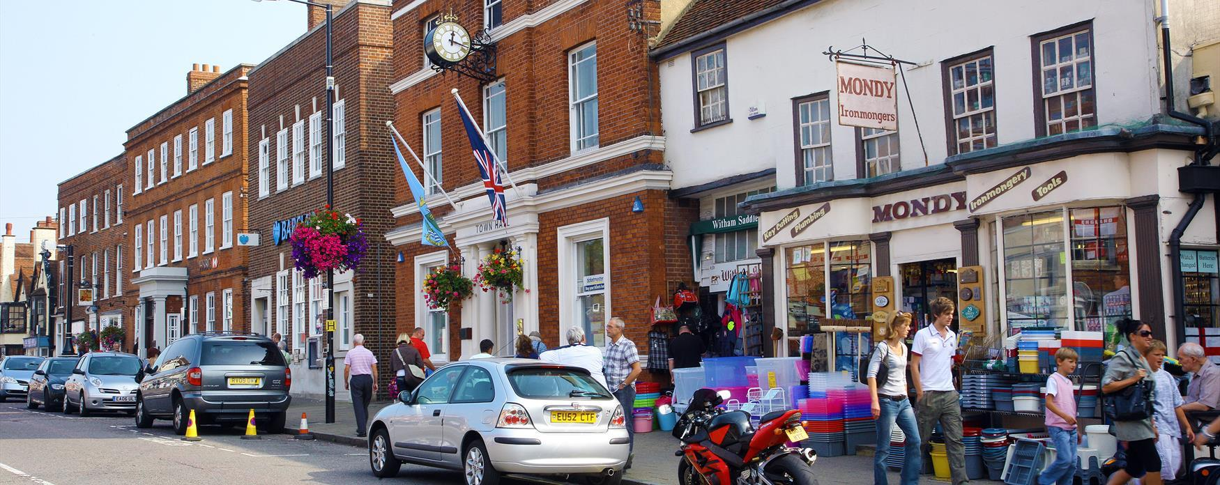 Image of Witham High Street