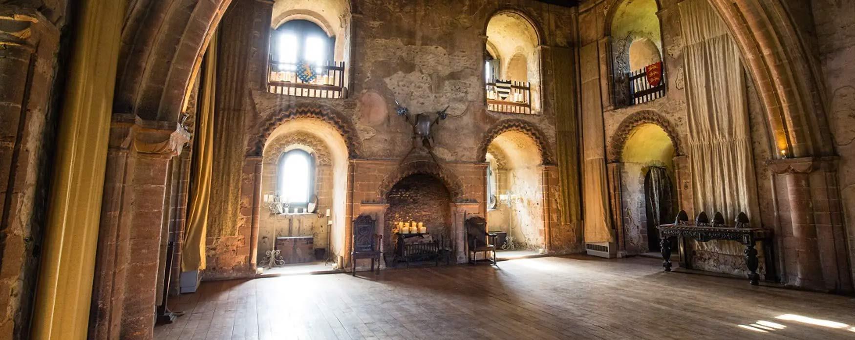 Experience historic Hedingham Castle