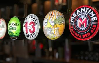 The White Hart has a large selection of craft lagers, real ales, ciders and firm favourites.