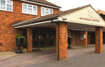 A photo of the outside building at Rivenhall Hotel.