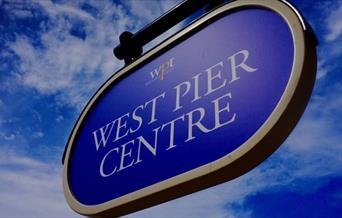 West Pier Centre - sign