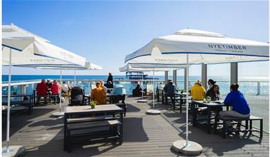 West Beach cafe bar terrace