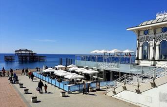 West Beach restaurant beachfront terrace