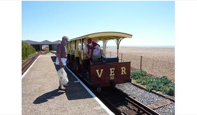 Volks Railway - ready to get on board