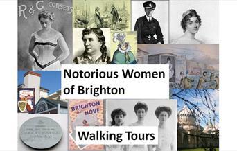 History Women Brighton - promotional postcard