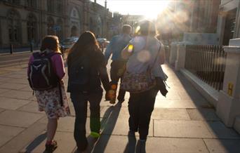 Guided walk past Brighton Dome