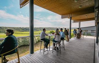 Al Fresco Wine and Nibbles Tasting Room Balcony