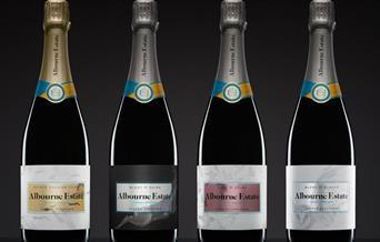 Albourne Estate - wine bottles