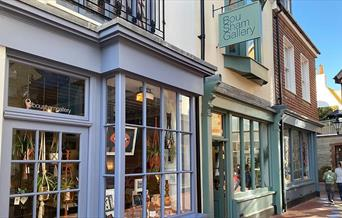 Gallery shop front