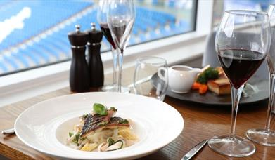 HB's Restaurant at the AMEX