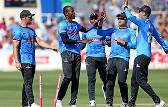 Sussex Cricket - players celebrating