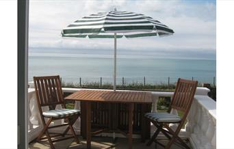 Terrace, sea view