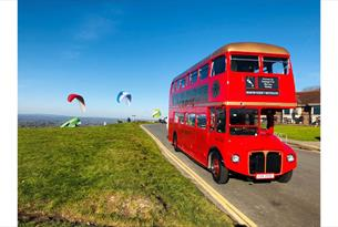 Brighton Regency Routemaster - on Downs