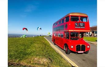 Brighton Regency Routemaster - on Downs