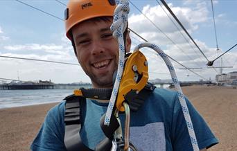 Brighton Zip - man smiling