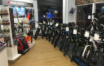 Electric Bikes Sussex - shop