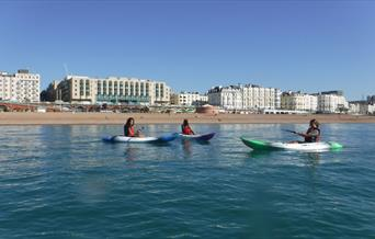 Brighton Watersports - canoes