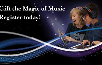 Gift the Magic of Music Register today