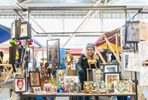 Brighton Open Market - crafts