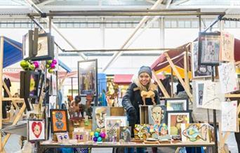 Brighton Open Market - crafts