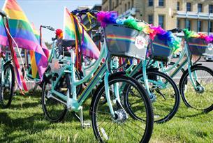 BTN BikeShare - Bikes during Pride