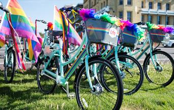 BTN BikeShare - Bikes during Pride