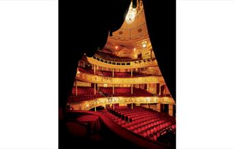 The Auditorium as seen from one of the Theatre Royal boxes
