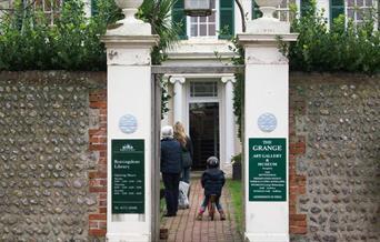 Grange entrance