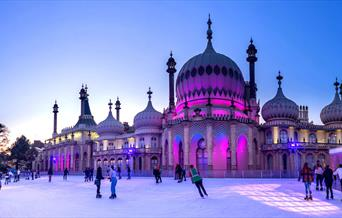 Photo of the Royal Pavilion Ice Rink