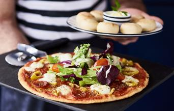 Pizza Express Hot Leggera Pizza