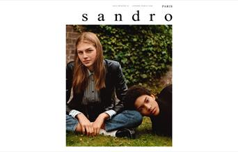 Sandro women's and Men's Wear