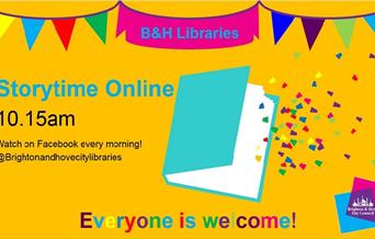Image for event - Storytime for Under 5's