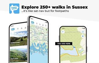 Sussex walks app image